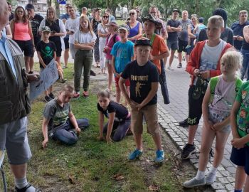 MŁODZIEŻOWE ZAWODY SPŁAWIKOWE O PUCHAR BURMISTRZA - JEZ. DOMOWE MAŁE, 26 lipca 2020 r.